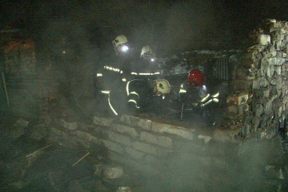 Požiar v Rudňanoch: Takto to vyzeralo na mieste
