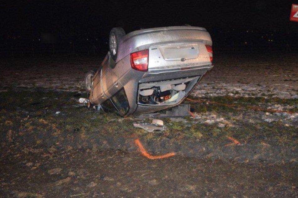 Zábery z miesta tragickej nehody v Liptovskom Mikuláši