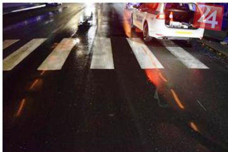 Dopravná nehoda na Ul. SNP v Liptovskom Hrádku