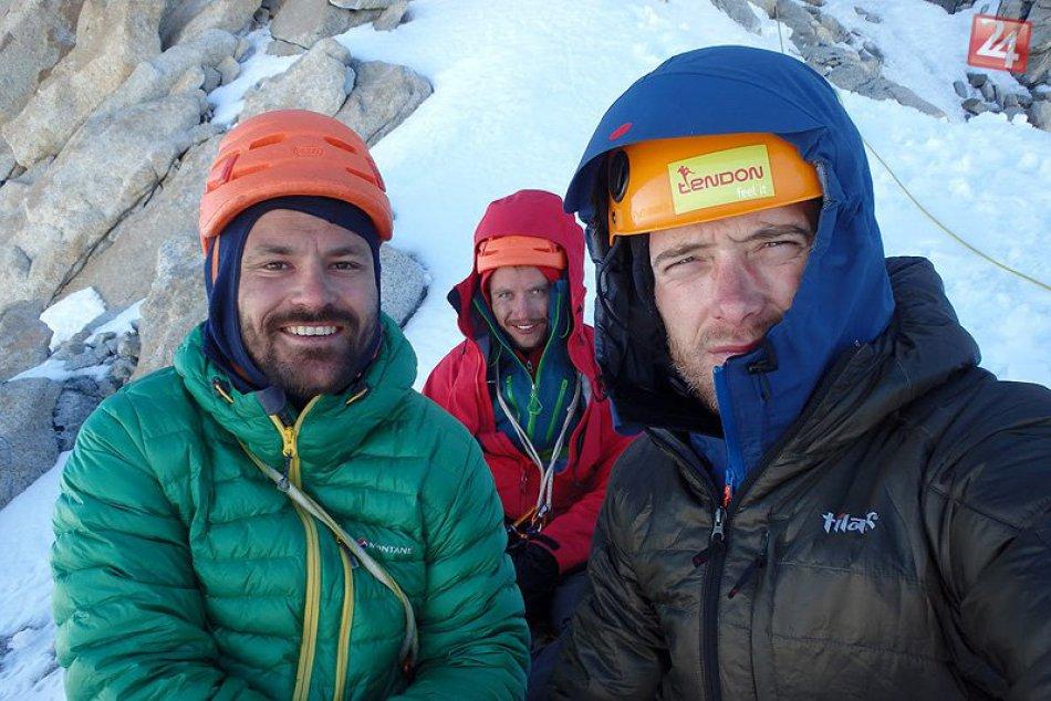 Patagónia: Michal Sabovčík s kamarátmi, ako prví Slováci na Cerro Tore