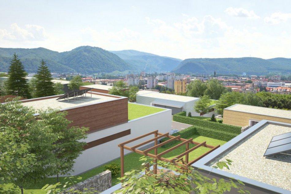 VIZUALIZÁCIA novej obytnej zóny v lokalite Sarvaška nad poliklinikou
