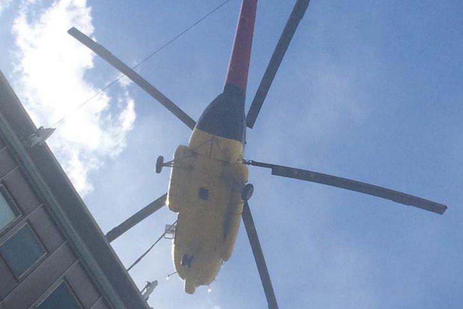 Zábery vrtuľníka v Prešove, čo narobil paseku: Takto letel nad mestom