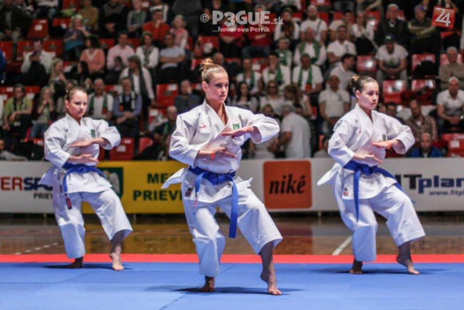 Prievidzskí karatisti na svetovom pohári v Hradci Králové
