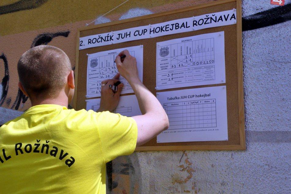 2. ročník JUH CUP hokejbalového turnaja