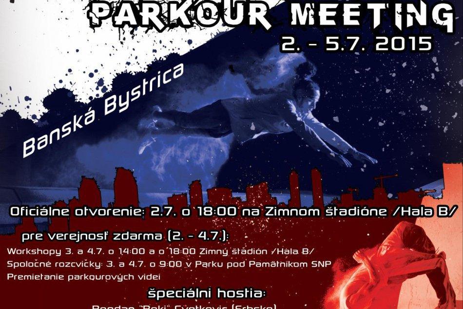 V Bystrici sa chystá najväčšie stretnutie parkouristov