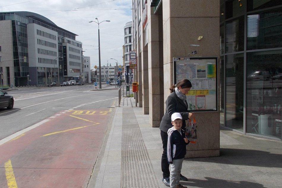 Pekné dopravné uzly v Bratislave