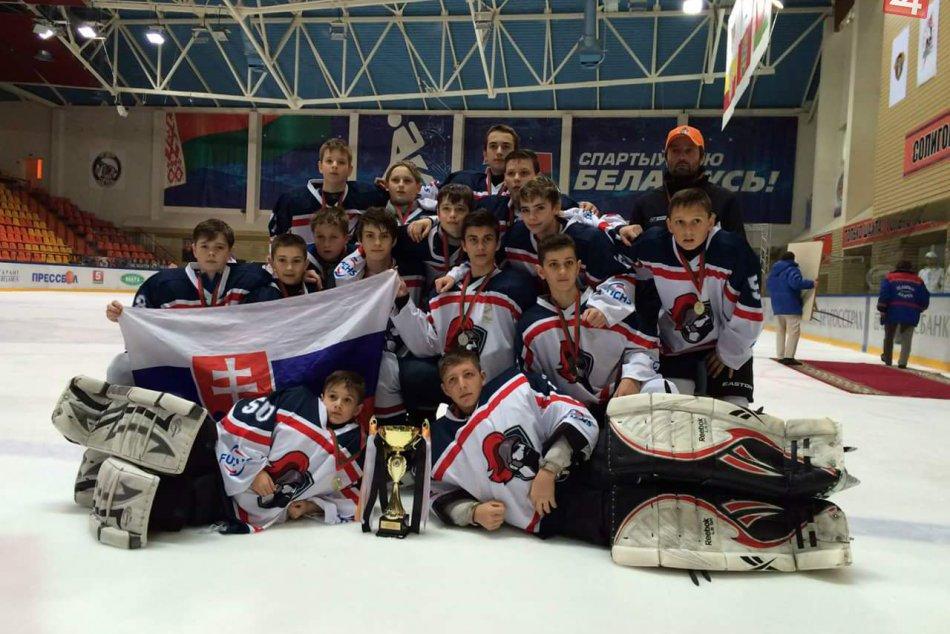 Víťazná breznianska hokejová mládež