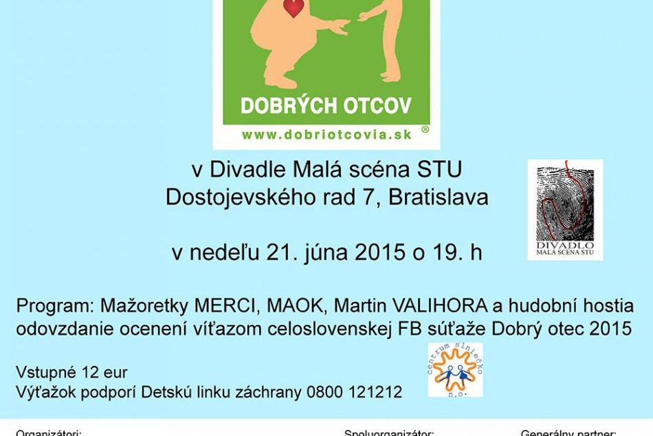Bratislavská oslava Dňa otcov