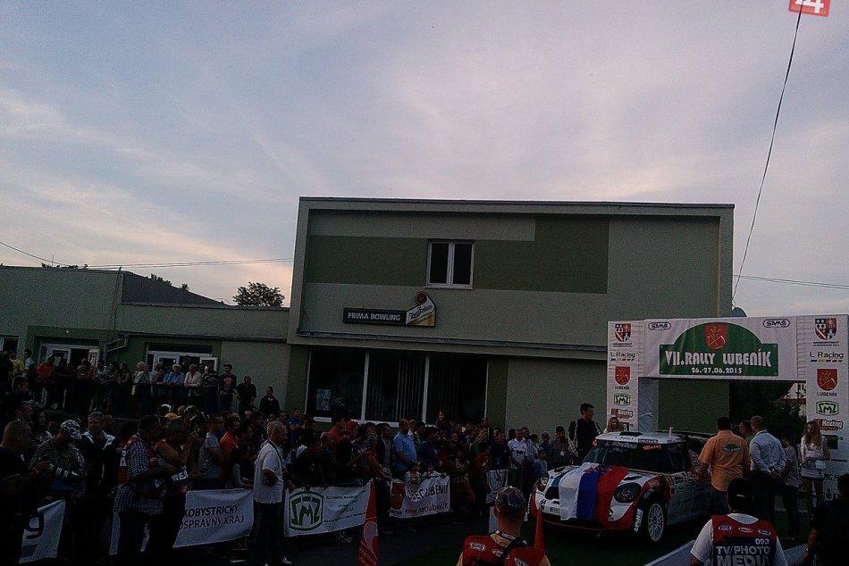 Rally Lubeník 2015 (Slávnostný štart)