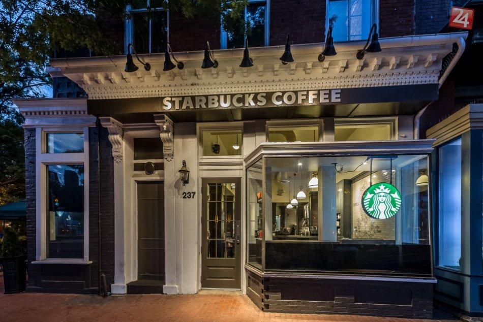 Najkrajšie kaviarne Starbucks