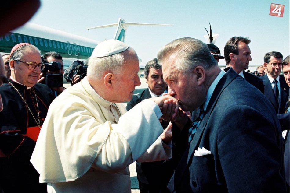 Autentické FOTO z návštevy Jána Pavla II. v Nitre!