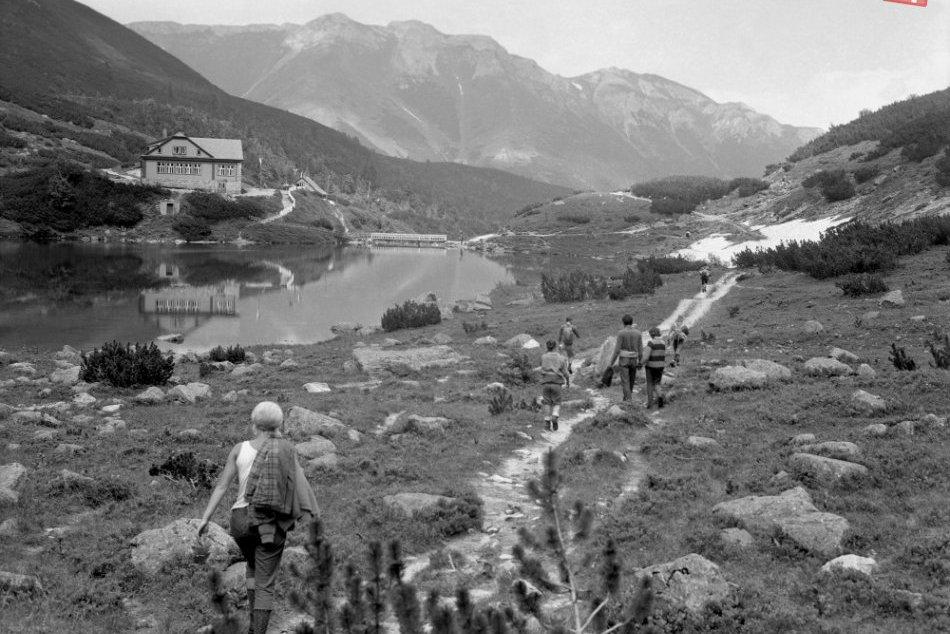 Letná turistická sezóna v 60.rokoch minulého storočia vo Vysokých Tatrách