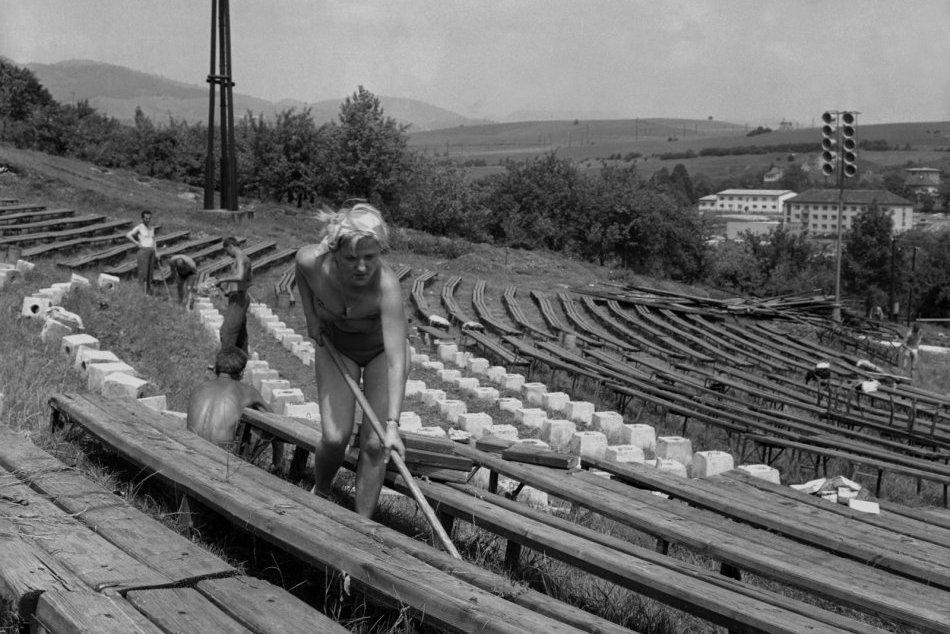 Galéria: Bystrický amfiteáter na archívnych záberoch