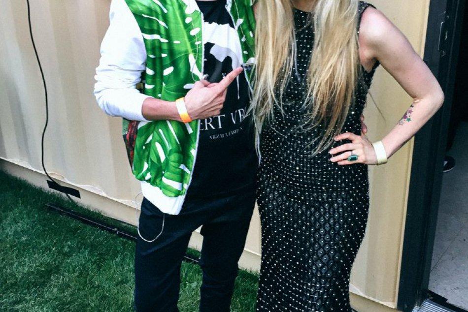 Popradský huslista na jednom pódiu s Avril Lavigne