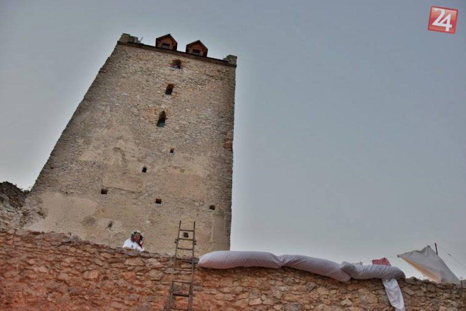 Predstavenie Perinbaba na Topoľčianskom hrade