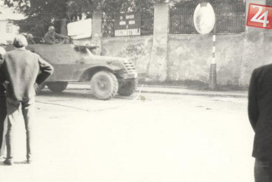 21.augusta 1968 vojská Varšavskej zmluvy vrthli aj do Popradu. Takto to vyzeralo