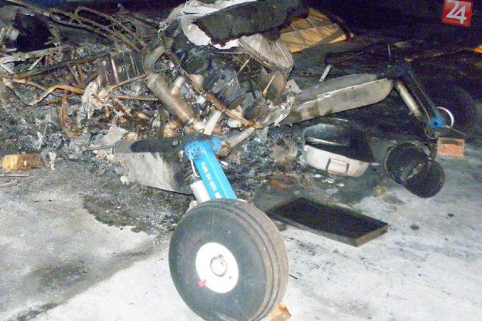 Na letisku v Boľkovciach zhoreli dve lietadlá