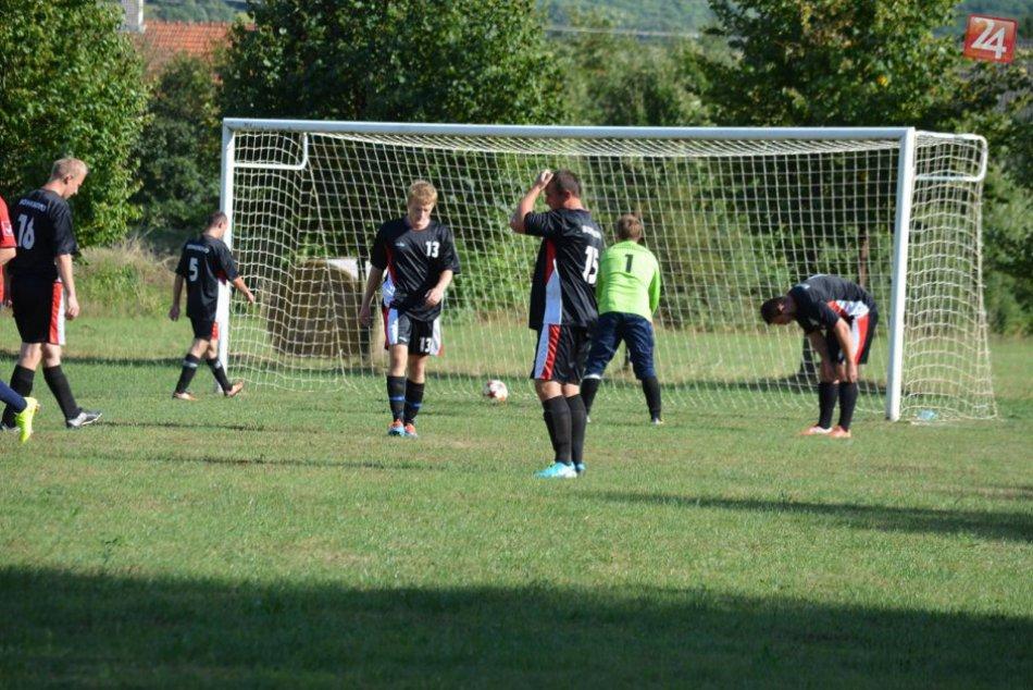 Futbalový zápas Bohúňovo - Krásnohorská Dlhá Lúka 1:5
