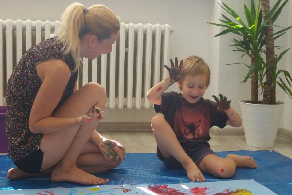 Rodinná arteterapia v Centre včasnej intervencie