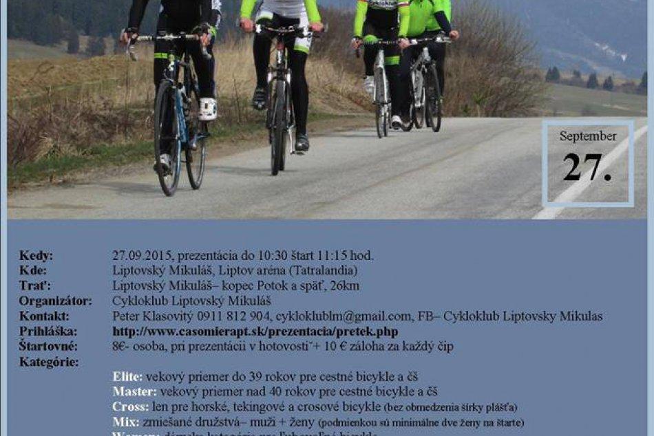 Časovka družstiev - cyklisticke preteky