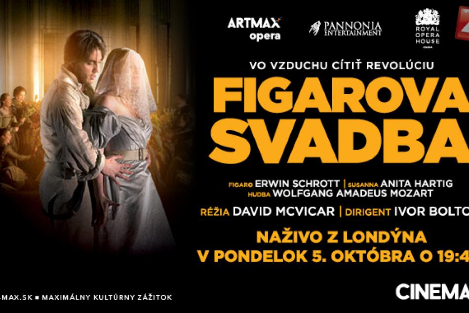 033668466 Nádherná opera v priamom prenose z Londýna: Figarovu svadbu si môžu ...
