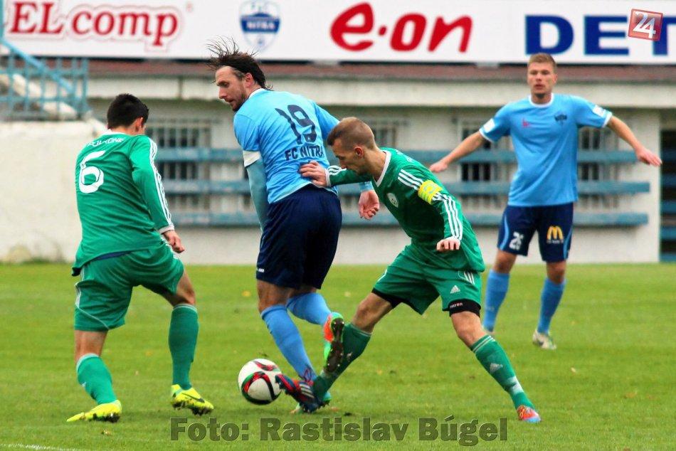 FC Nitra - FK Pohronie Žiar nad Hronom Dolná Ždaňa