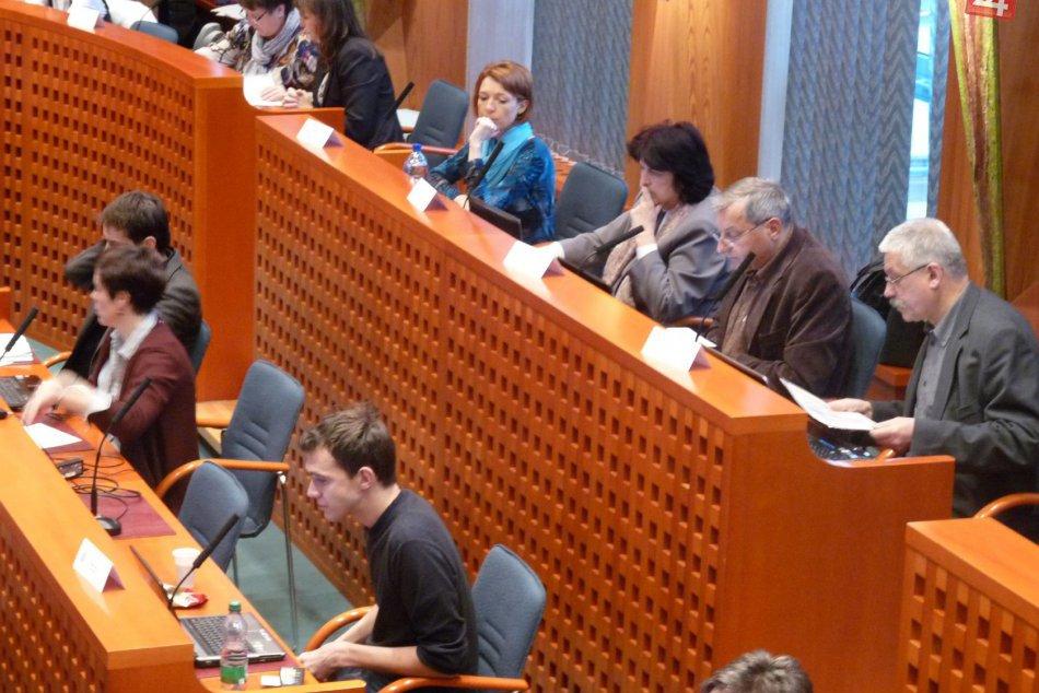 Rokovanie zastupiteľstva v Bystrici