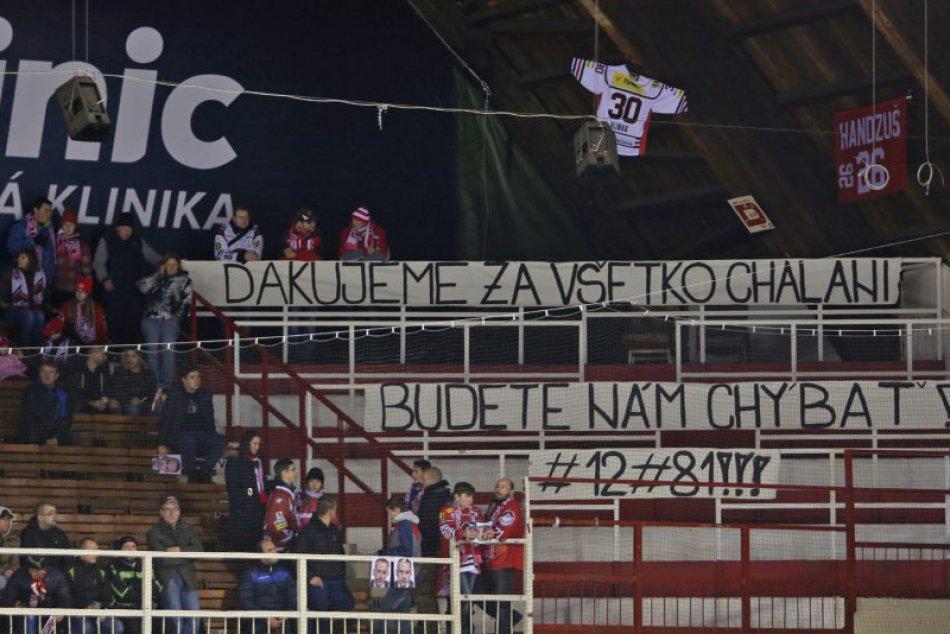FOTO: Bystrickí hokejisti zdolali majstra z Košíc