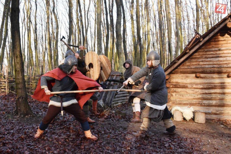 Zimné oživenie hradiska Valy pri Topoľčanoch