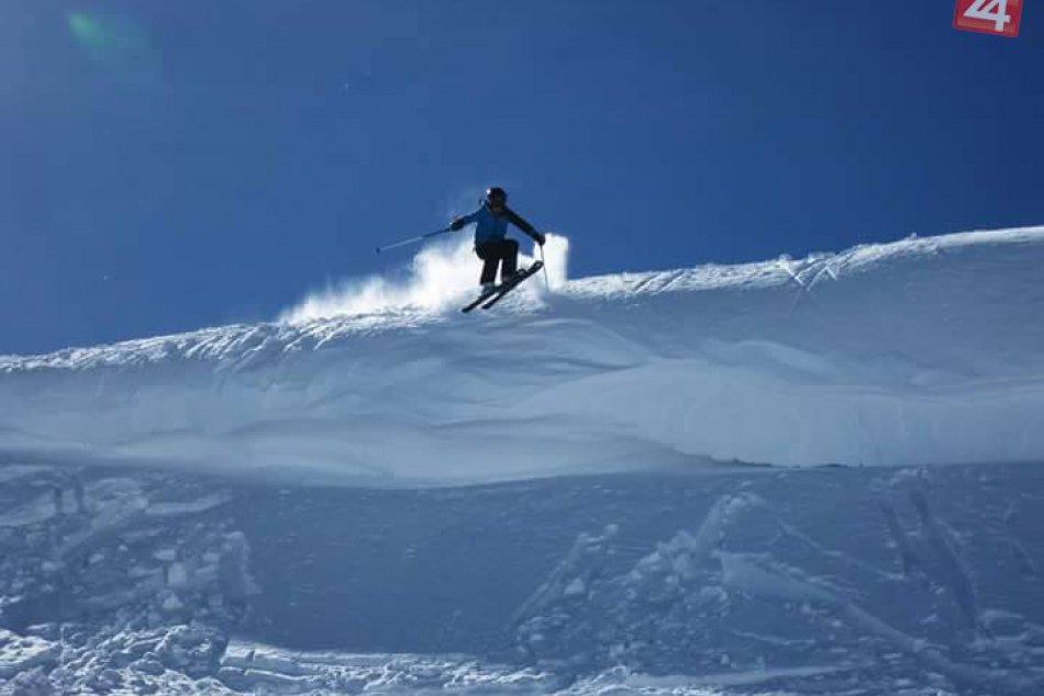 FOTO: Bystrický talent na lyžiach