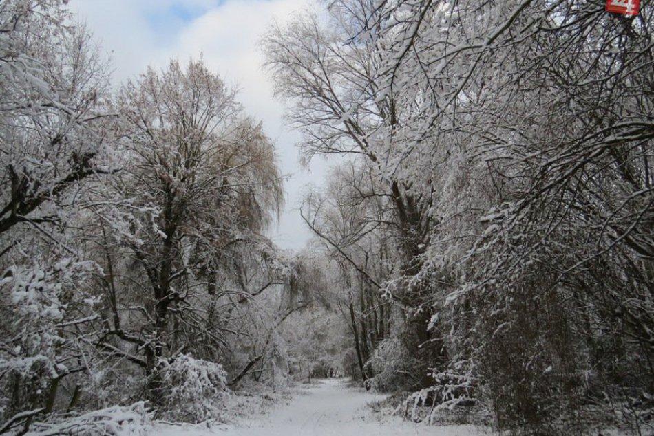 Šírava ako z rozprávky, zima došla aj sem :-)