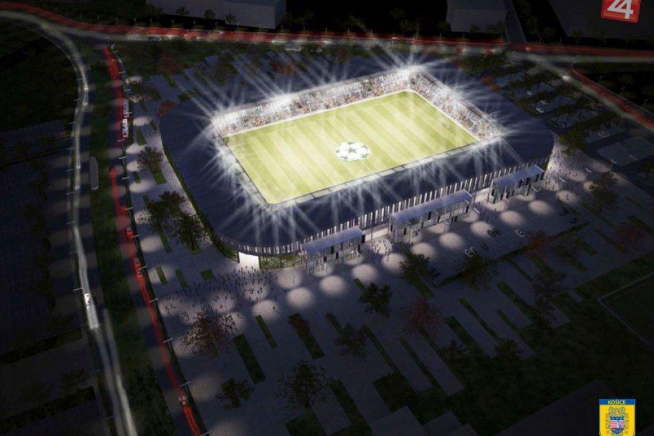 Takto bude vyzerať nová košická futbalová aréna!