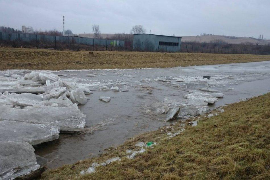 Aj takto môže vyzerať rieka Hornád v Spišskej Novej Vsi