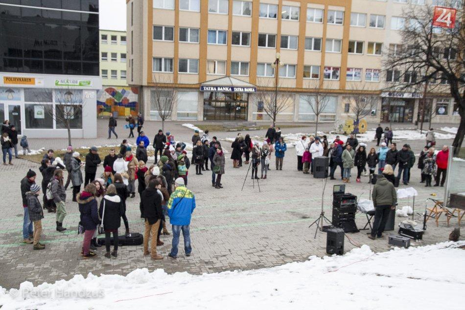 Koncert učiteľov v Poprade