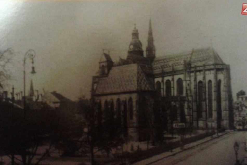 Fotogaléria historických záberov Dómu sv. Alžbety