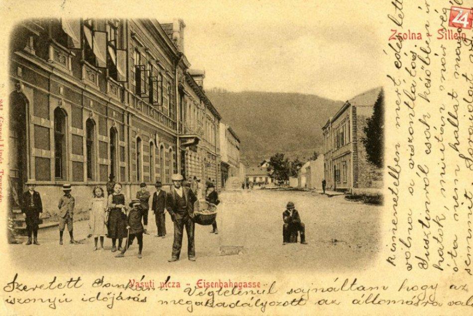 V obrazoch: Národná ulica v Žiline kedysi