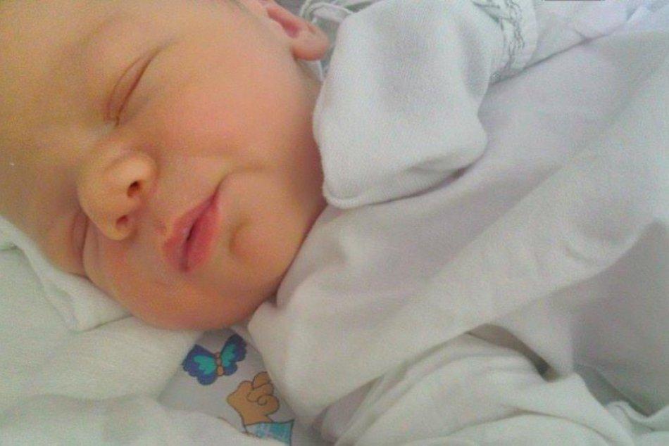 Fotogaléria: Zoznámte sa s najväčším bystrickým bábätkom roka