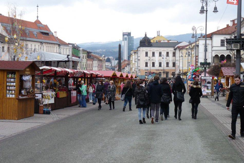 Veľkonočné trhy na bystrickom námestí v OBRAZOCH