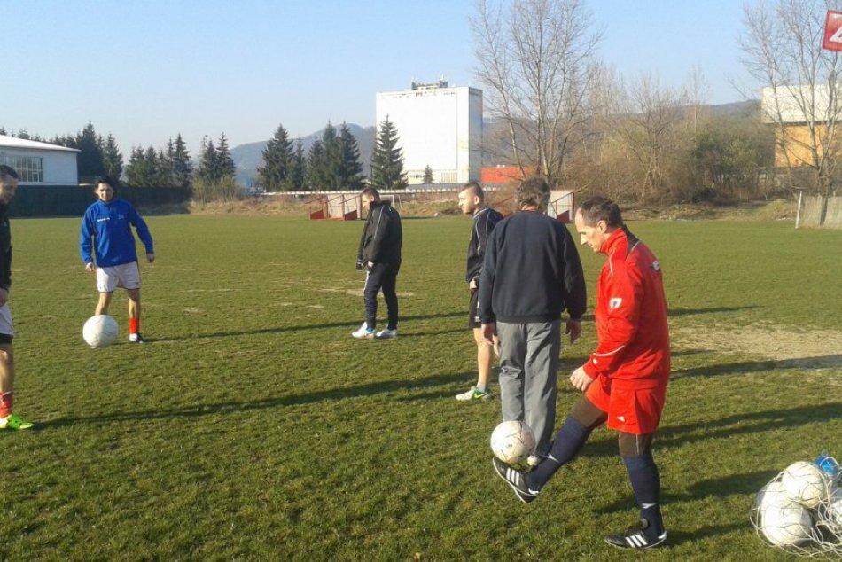 Tréning futbalistov MŠK Považská Bystrica
