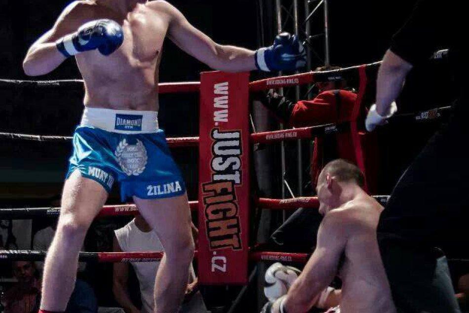 Žilinský thaiboxer Miroslav Cingel a jeho bojové umenie v ringu