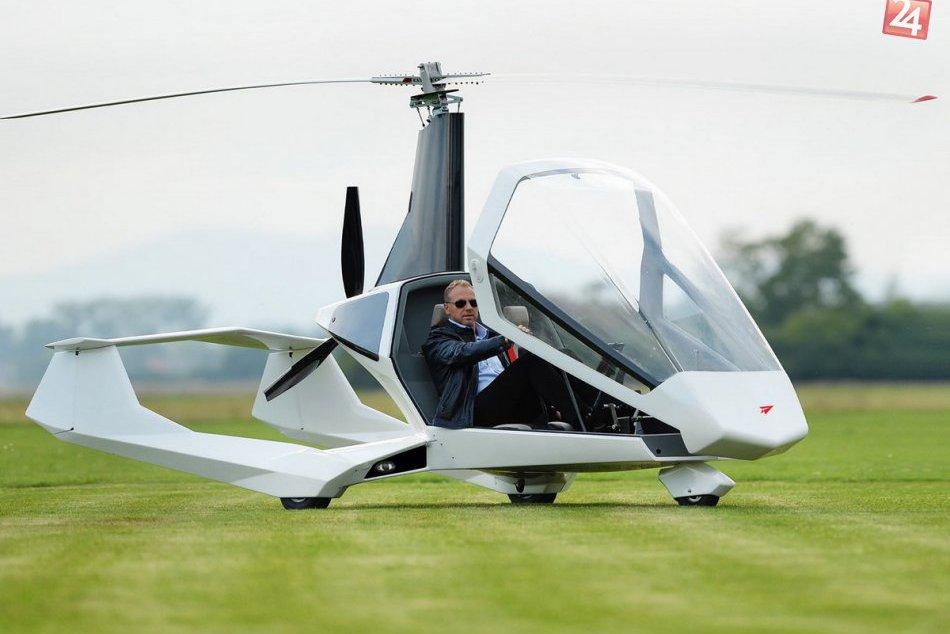 Po Aeromobile prichádza ďalší lietajúci unikát: Joker Gyrocopter patrí medzi eli