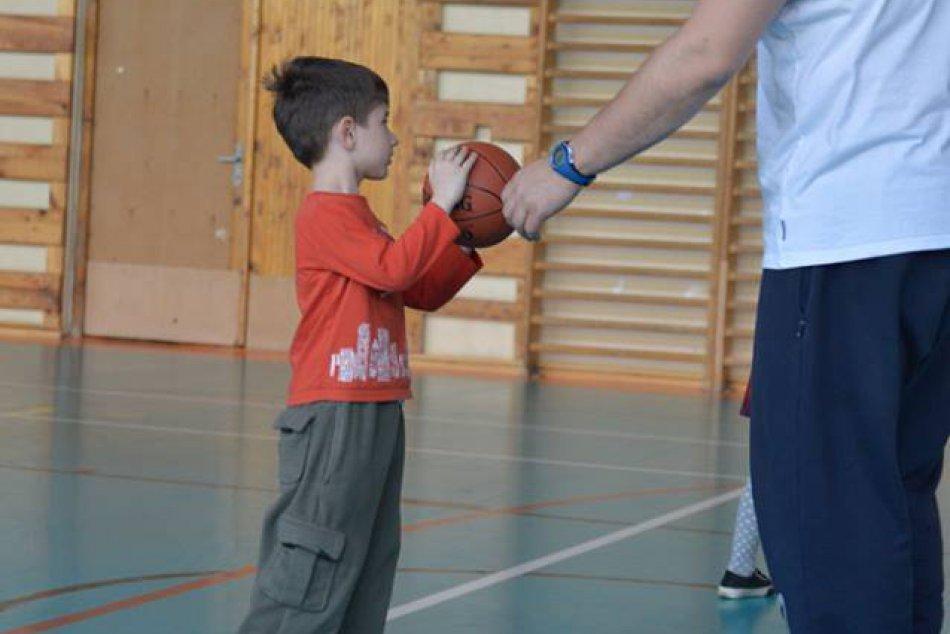 Baby basketbal v Michalovciach