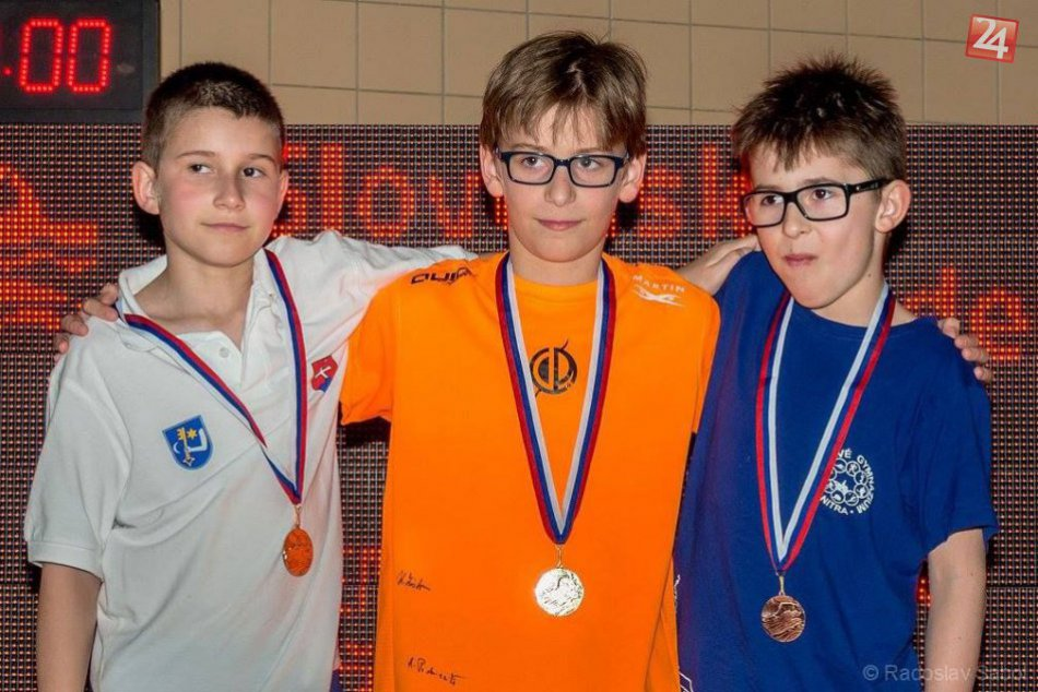 Najmladší humenskí plavci na pretekoch Slovenského pohára