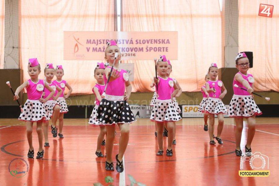 Sašetky sa po prvý krát zúčastnili na majstrovstvách Slovenska