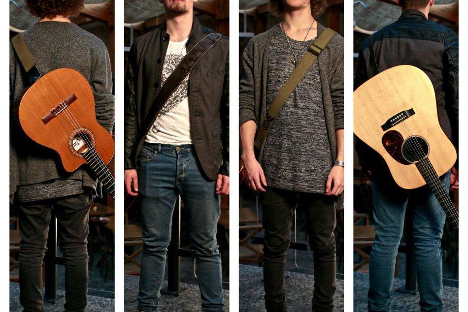 FOTO: Nádejný hudobník Dominik Lauko a jeho skupina DLB band.