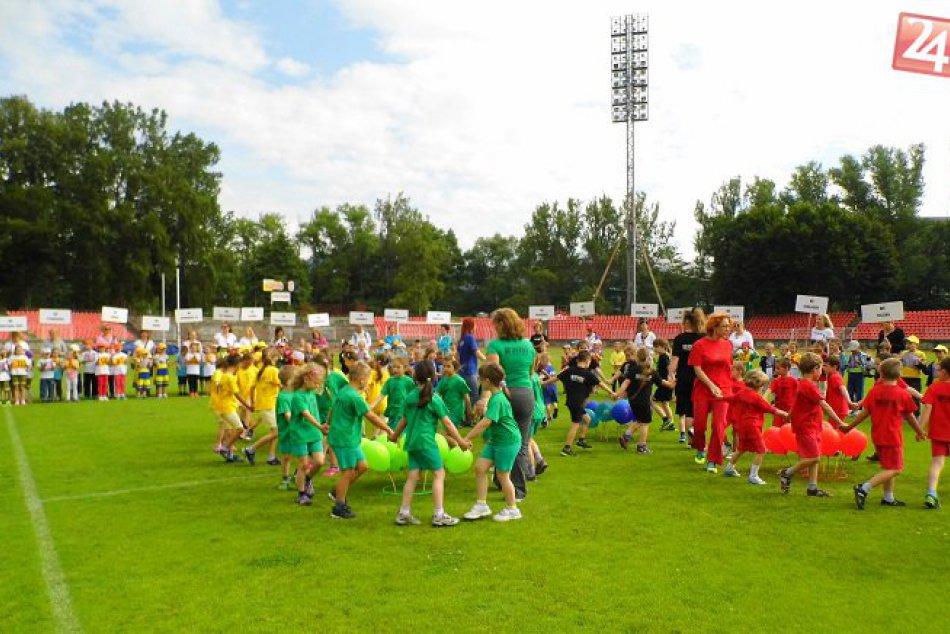 FOTO: Olympijské festivaly detí mesta Banská Bystrica