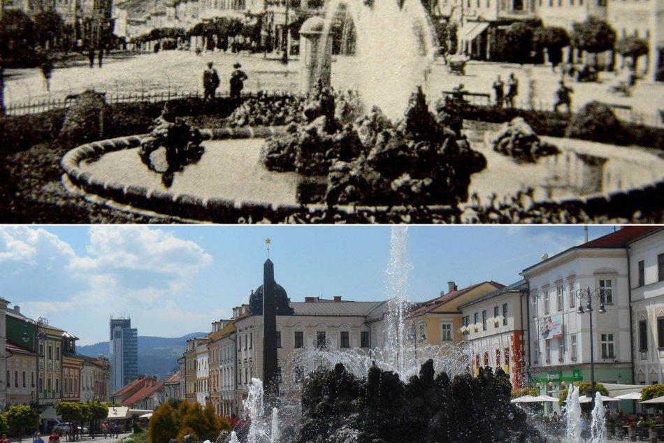 Dobové zábery vs. súčasnosť. Ako vyzerajú známe miesta v Bystrici?