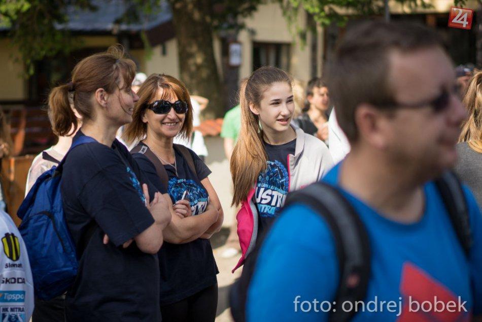 Majstrovský pohár na Zobore: Fanúšikovia si užili túru s hokejistami HK Nitra
