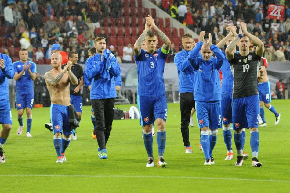 Futbalisti šokovali Nemcov