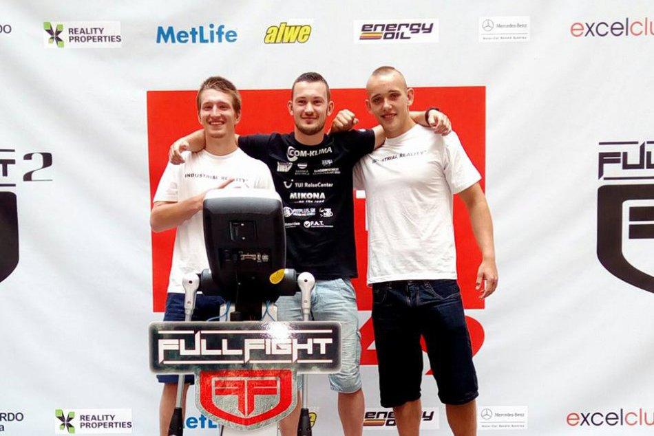 Triumf mladého bystrického bojovníka MMA v OBRAZOCH